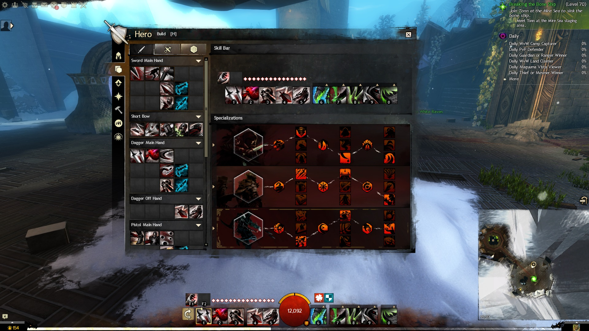 Guild wars 2 heart of thorns revenant burst damage build dps.