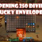 Opening 250 Divine Lucky Envelopes (2016)