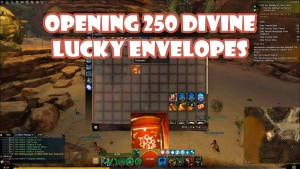 Opening 250 Divine Lucky Envelopes (2016)